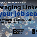 Leveraging linkedin for job search
